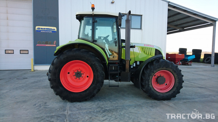 Трактори Claas Arion 640Hexashift 1 - Трактор БГ