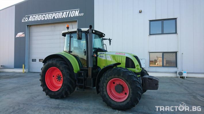 Трактори Claas Arion 640Hexashift 0 - Трактор БГ