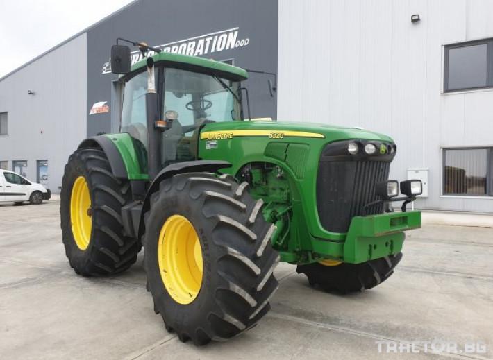 Трактори John-Deere 8320 PS 0 - Трактор БГ