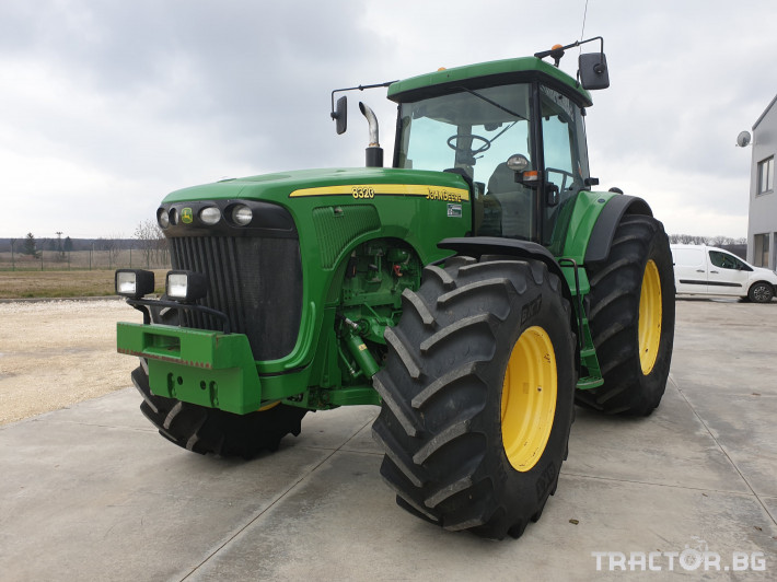 Трактори John-Deere 8320 PS 1 - Трактор БГ