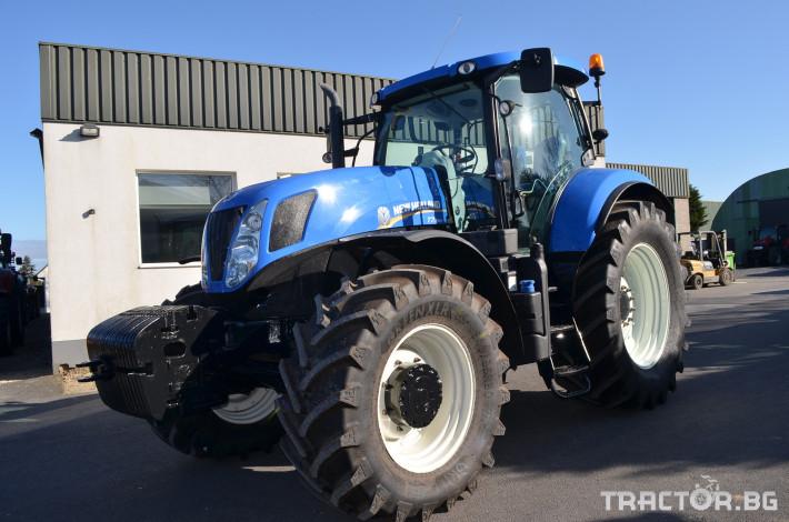 Трактори New-Holland T7.250 Powercommand 0 - Трактор БГ