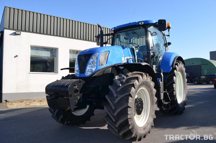 Трактори New-Holland T7.250 Powercommand 1 - Трактор БГ