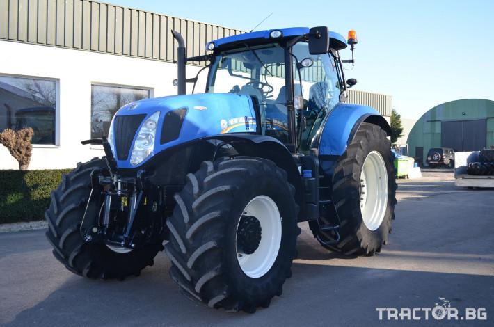 Трактори New-Holland T7.250 Autocommand 0 - Трактор БГ