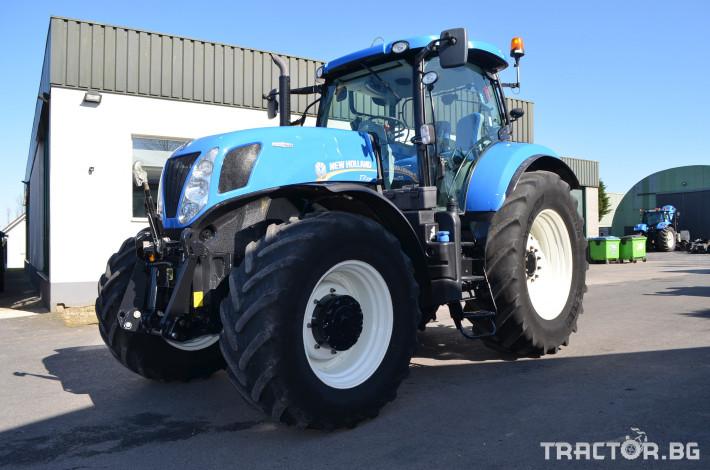 Трактори New-Holland T7.235 Autocommand 0 - Трактор БГ