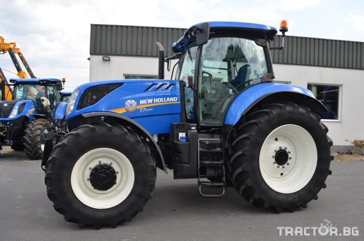 Трактори New-Holland T7.230 Powercommand 1 - Трактор БГ
