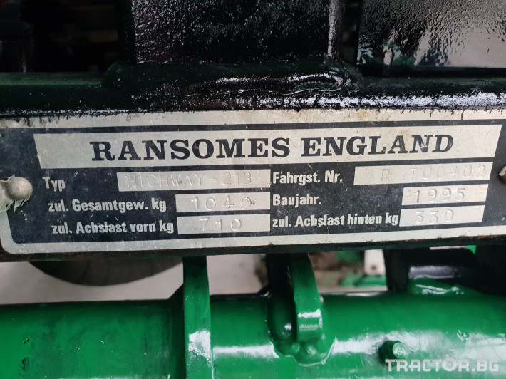 Косачки Ransomes Highway 213 9 - Трактор БГ