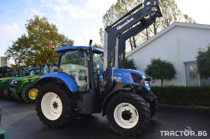 Трактори New-Holland T7.185 Powercommand 0 - Трактор БГ