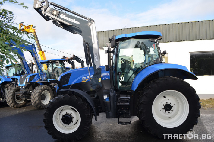 Трактори New-Holland T7.185 Powercommand 2 - Трактор БГ