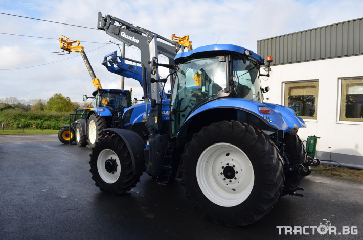 Трактори New-Holland T7.185 Powercommand 3 - Трактор БГ