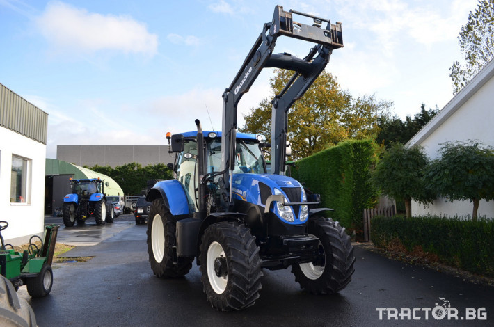 Трактори New-Holland T7.185 Powercommand 5 - Трактор БГ