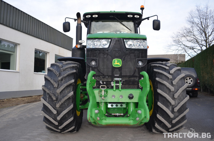 Трактори John-Deere 8320R 7 - Трактор БГ